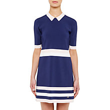 Buy Ted Baker Colour By Numbers Origami Knitted Stripe Dress Online at johnlewis.com