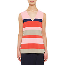 Buy Ted Baker Colour By Numbers Nenti Knitted Stripe Vest Online at johnlewis.com