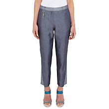 Buy Ted Baker Colour By Numbers Quintai Side Panel Trousers, Navy Online at johnlewis.com