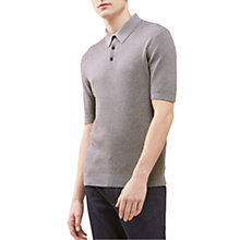 Buy Jigsaw Cotton Waffle Polo Shirt Online at johnlewis.com