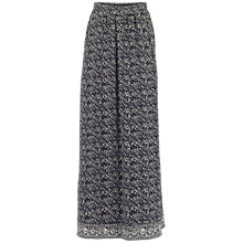 Buy Fat Face Amber Tribal Stripe Maxi Skirt, Phantom Online at johnlewis.com