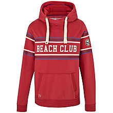 Buy Fat Face Beach Club Hoodie, Rosewood Online at johnlewis.com