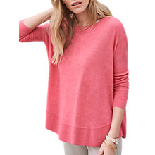 Buy Pure Collection Featherweight Curved Hem Cashmere Jumper Online at johnlewis.com