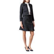 Buy Hobbs Natalie Skirt, Navy/Multi Online at johnlewis.com