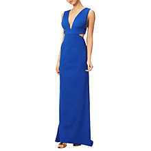 Buy Adrianna Papell Jersey Sleeveless Gown, Royal Blue Online at johnlewis.com
