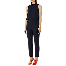 Buy Reiss Flavia High Neck Sleeveless Jumpsuit Online at johnlewis.com