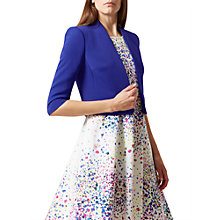 Buy Hobbs Sandra Jacket, Light Oxford Blue Online at johnlewis.com