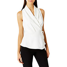 Buy Coast Parli Tuxedo Top, Ivory Online at johnlewis.com