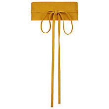 Buy Hobbs Obi Belt, Ochre Online at johnlewis.com