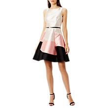 Buy Coast Pheobe Colour Block Dress, Multi Online at johnlewis.com