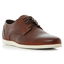 Buy Bertie Beacre Derby Shoes, Tan Online at johnlewis.com