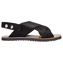 Buy Jigsaw Maya Cross Strap Sandals Online at johnlewis.com