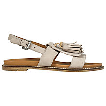 Buy Jigsaw Yvette Tassel Sandals Online at johnlewis.com