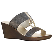 Buy Carvela Comfort Salt Wedge Heeled Sandals Online at johnlewis.com