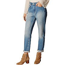 Buy Karen Millen Twisted Seam Jeans, Denim Online at johnlewis.com