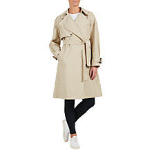 Buy Four Seasons Unfastened Trench Coat, Putty Online at johnlewis.com