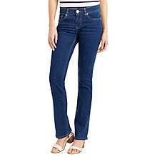 Buy Oasis Eva Mid Wash Jeans, Blue Denim Online at johnlewis.com