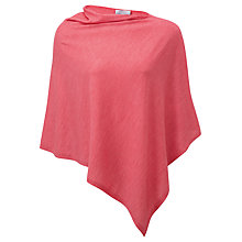 Buy Pure Collection Featherweight Cashmere Poncho Online at johnlewis.com