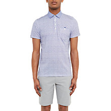 Buy Ted Baker Fornia Woven Cotton Polo Shirt Online at johnlewis.com