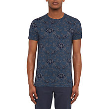 Buy Ted Baker Hapyval Floral Print T-Shirt Online at johnlewis.com