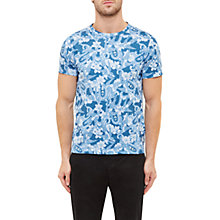 Buy Ted Baker Sayfa Floral Cotton T-Shirt Online at johnlewis.com