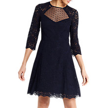 Buy Oasis Lace Skater Dress Online at johnlewis.com