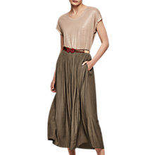 Buy Gerard Darel Jaya Skirt, Dark Green Online at johnlewis.com