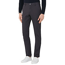 Buy Reiss Friston Twill Chinos, Navy Online at johnlewis.com