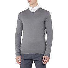 Buy Reiss Emporer Merino V-Neck Jumper Online at johnlewis.com