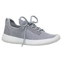 Buy Carvela Limped Lace Up Trainers, Grey Online at johnlewis.com