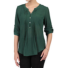 Buy Jolie Moi Textured Button Front Blouse Online at johnlewis.com