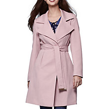 Buy Yumi Tailored Trench Coat, Pastel Pink Online at johnlewis.com