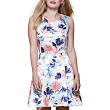 Buy Yumi Floral Sleeveless Occasion Dress, Multi Online at johnlewis.com