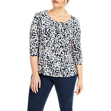 Buy Studio 8 Rory Print Jersey Top, Blue/Multi Online at johnlewis.com