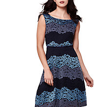 Buy Yumi Three Tone Stripe Lace Dress Online at johnlewis.com