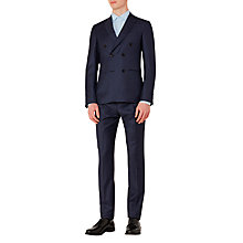 Buy Reiss Arno Double-Breasted Check Modern Fit Suit, Navy Online at johnlewis.com