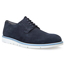 Buy Geox Uvet Suede Trainers, Navy Online at johnlewis.com