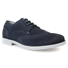 Buy Geox Danio Suede Shoes, Navy Online at johnlewis.com