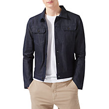 Buy Jigsaw Japanese Selvedge Denim Jacket, Indigo Online at johnlewis.com