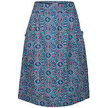 Buy Fat Face Casey Jewel Geo Print Skirt, Indigo Online at johnlewis.com