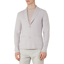 Buy Reiss Watchman Shawl Collar Cardigan, Stone Online at johnlewis.com