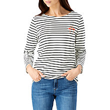 Buy Sugarhill Boutique Brighton Flamingo Top, White/Black Online at johnlewis.com