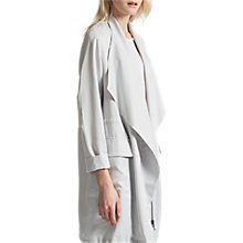 Buy French Connection Lulu Drape Duo Neckline Jacket, Grey Online at johnlewis.com
