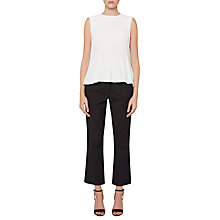Buy French Connection Modern Kantha Drape Top, Summer White Online at johnlewis.com