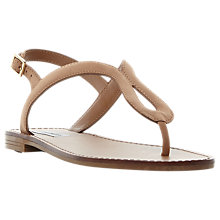 Buy Steve Madden Takeaway Toe Post Flat Sandals Online at johnlewis.com