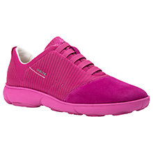 Buy Geox Nebula Breathable Trainers, Cyclamen Online at johnlewis.com