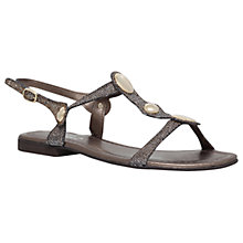 Buy Carvela Comfort Sarah Sandals, Metal Comb Online at johnlewis.com