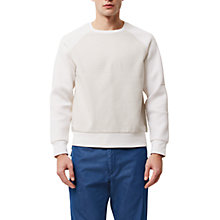 Buy Jaeger Lou Dalton Sweatshirt, White Online at johnlewis.com