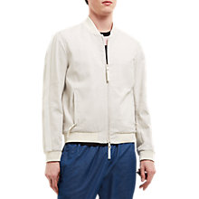 Buy Jaeger Lou Dalton Textured Jacket, White Online at johnlewis.com