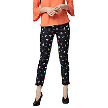 Buy Warehouse Woodstock Trousers, Multi Online at johnlewis.com